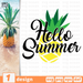 Hello Summer SVG vector bundle - Svg Ocean