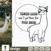 Free Teacher llama quote SVG printable cut file Teacher llama - Svg Ocean