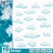 Clouds SVG vector bundle - Svg Ocean