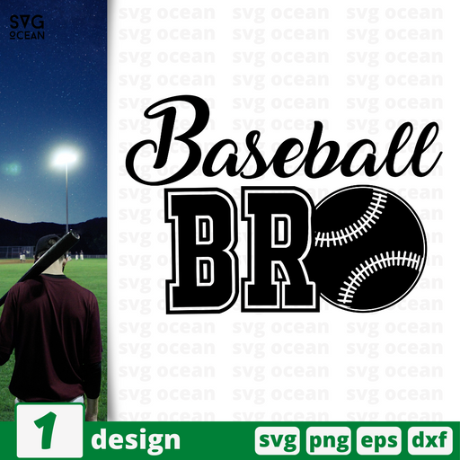 Baseball brother SVG vector bundle - Svg Ocean