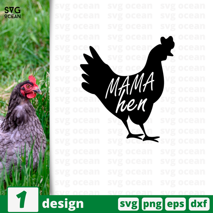Mama hen SVG vector bundle - Svg Ocean