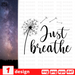 Just breathe SVG vector bundle - Svg Ocean