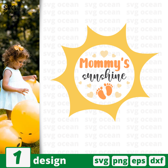 Mommy's sunshine SVG vector bundle - Svg Ocean