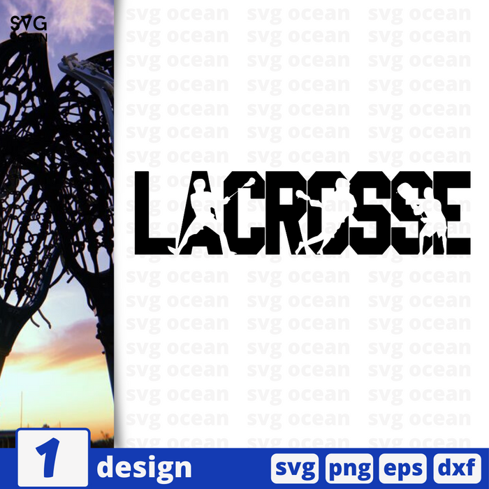 Lacrosse SVG vector bundle - Svg Ocean