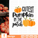 Cutest pumpkin in the patch SVG vector bundle - Svg Ocean