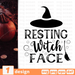 Resting witch face SVG vector bundle - Svg Ocean