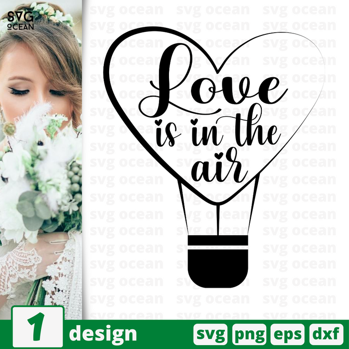 Love is in the air SVG vector bundle - Svg Ocean