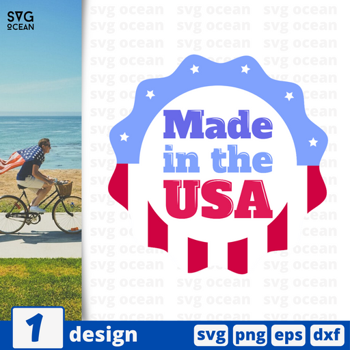 Made in the USA SVG vector bundle - Svg Ocean