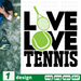 Live Love Tennis SVG vector bundle - Svg Ocean
