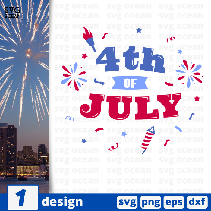 4th of July SVG vector bundle - Svg Ocean