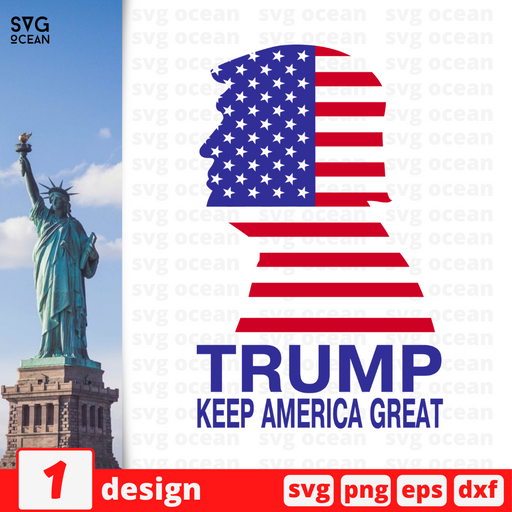 Trump Keep america Great SVG vector bundle - Svg Ocean