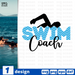 Swim coach SVG vector bundle - Svg Ocean