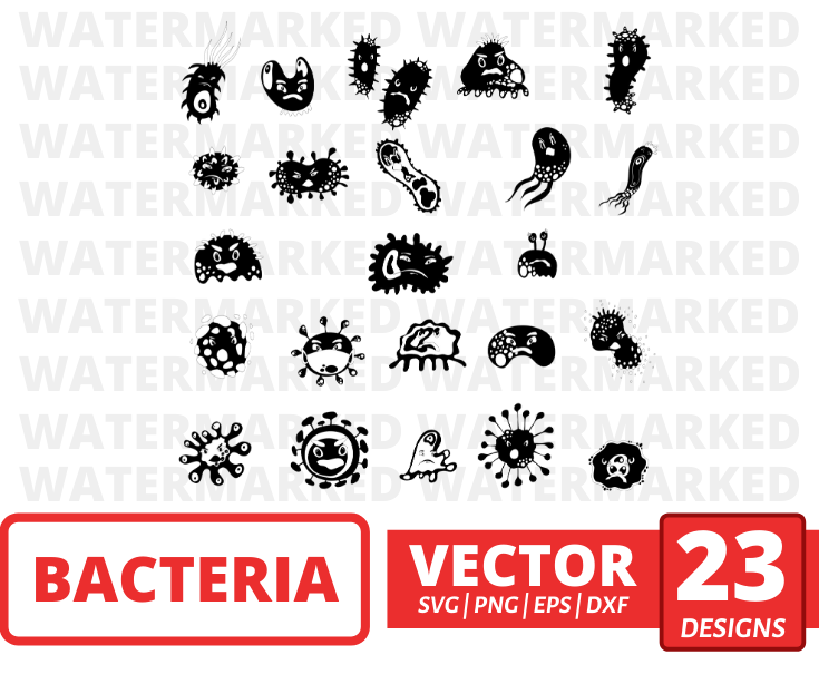 Bacteria svg files for cricut - Svg Ocean