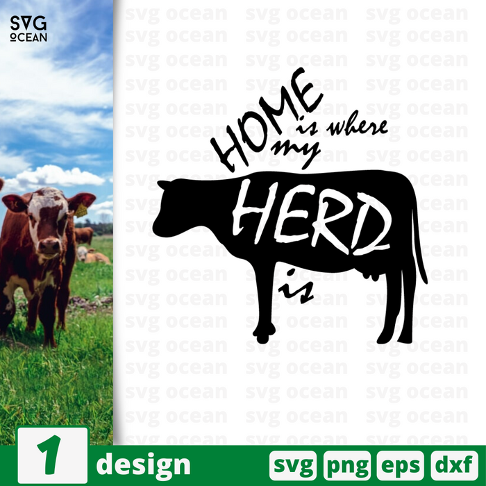 Cow  SVG vector bundle - Svg Ocean