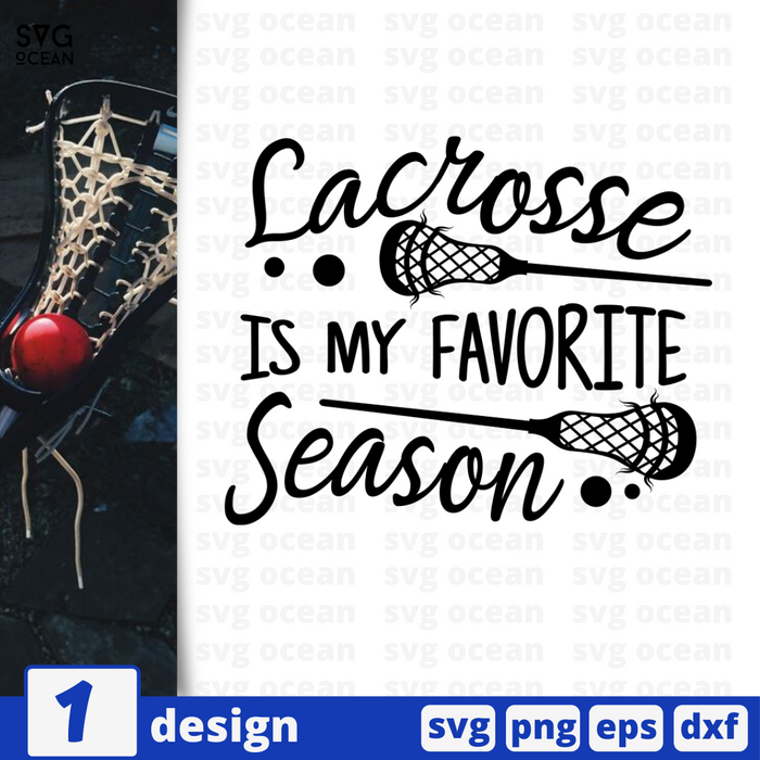 Lacrosse is my favorite season SVG vector bundle - Svg Ocean