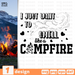 I just  want to smell like a campfire  SVG vector bundle - Svg Ocean