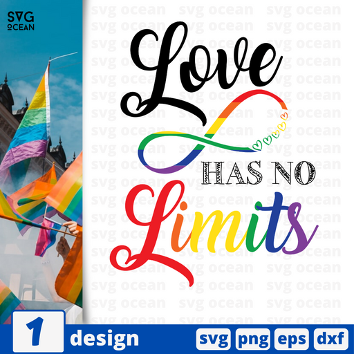 Love has no limits SVG vector bundle - Svg Ocean