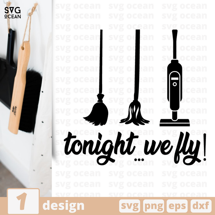 Free Tonight we fly quote SVG printable cut file Tonight we fly - Svg Ocean