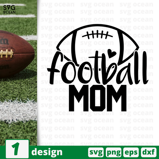 Football mom SVG vector bundle - Svg Ocean