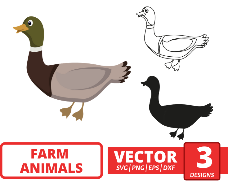 Duck SVG vector bundle - Svg Ocean