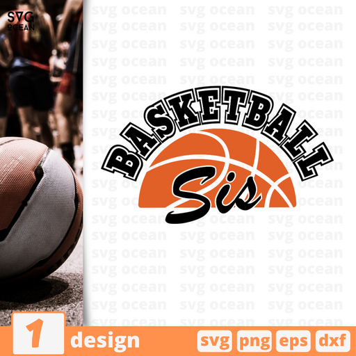 Basketball sis SVG vector bundle - Svg Ocean