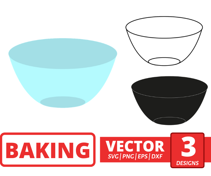 Bowl SVG vector bundle - Svg Ocean