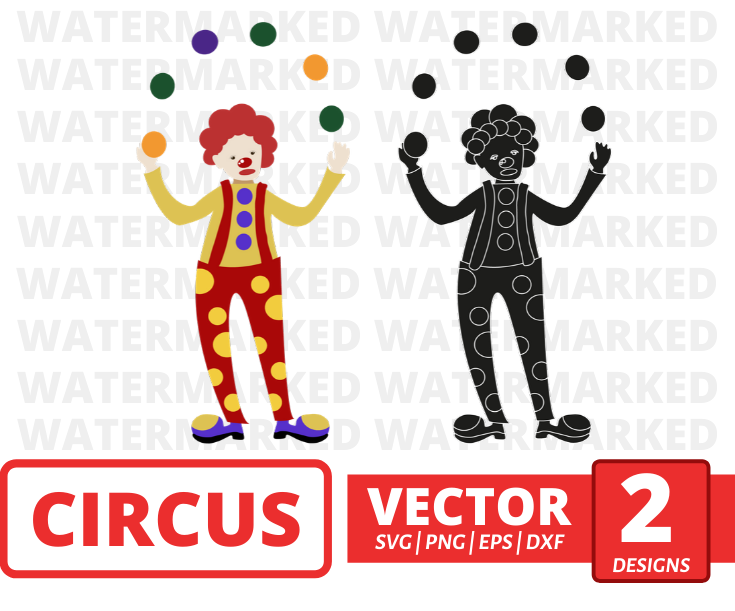 Clown SVG vector bundle - Svg Ocean