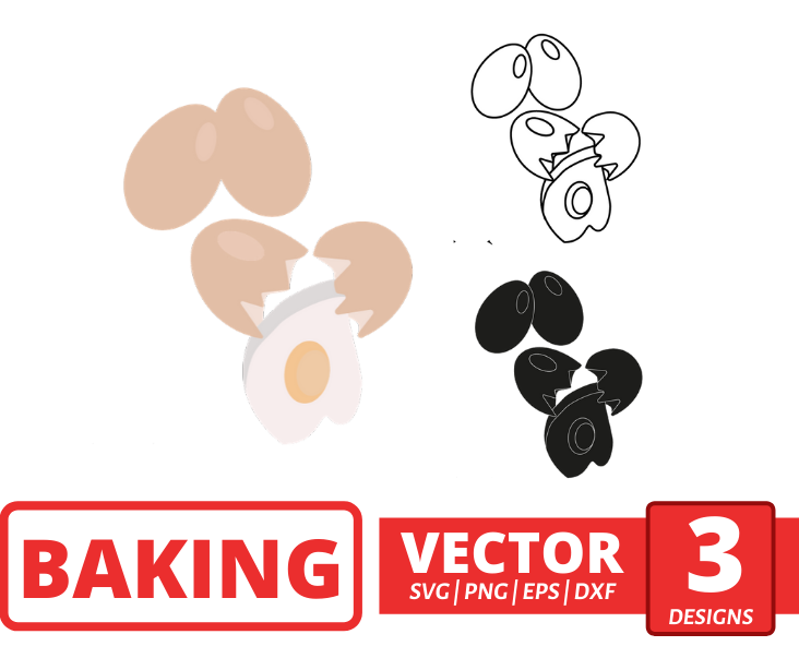 Eggs SVG vector bundle - Svg Ocean