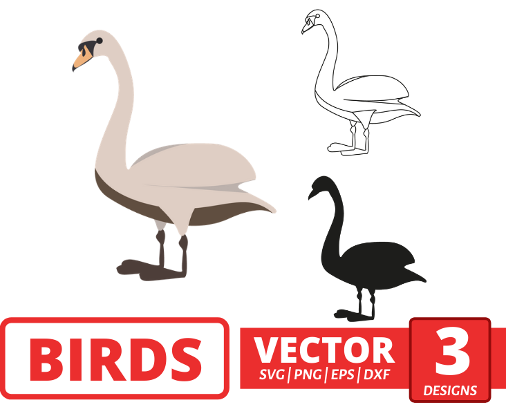 Goose SVG vector bundle - Svg Ocean