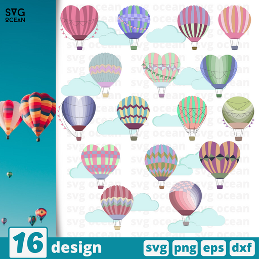 Ballons svg files for cricut - Svg Ocean