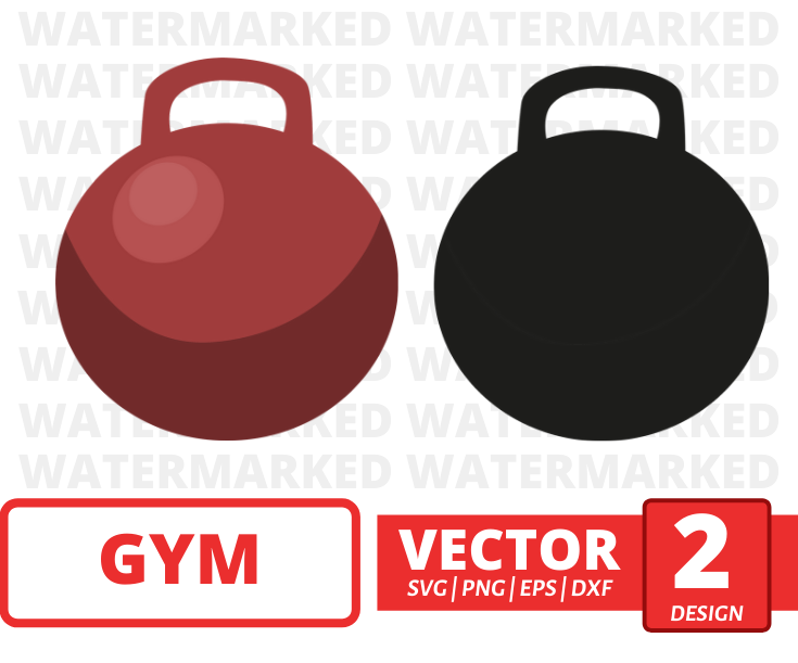 Kettlebell SVG vector bundle - Svg Ocean
