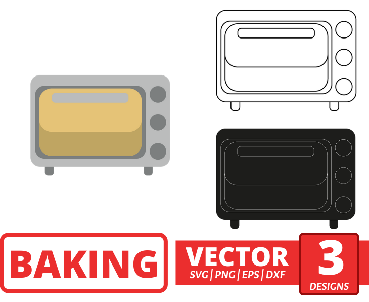 Microwave SVG vector bundle - Svg Ocean