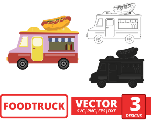 FoodTruck SVG vector bundle - Svg Ocean