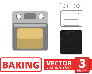 Oven SVG vector bundle - Svg Ocean