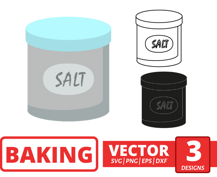 Salt SVG vector bundle - Svg Ocean