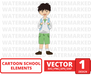 Schoolboy SVG vector bundle - Svg Ocean