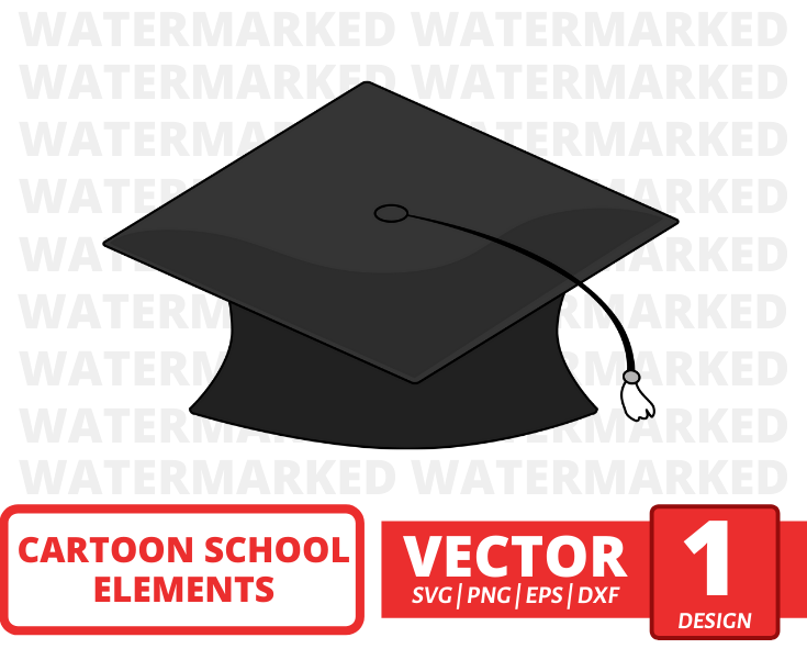 Student cap SVG vector bundle - Svg Ocean