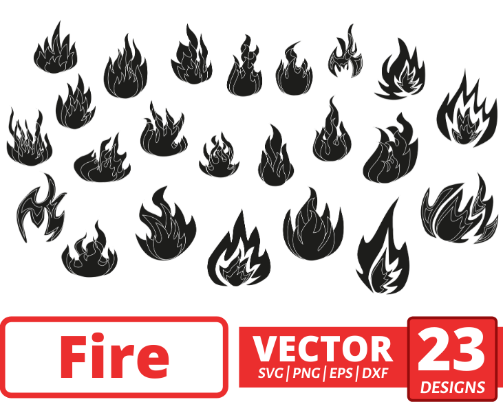 Fire SVG Bundle