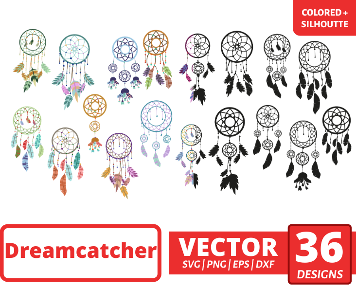 Dreamcatcher SVG Bundle