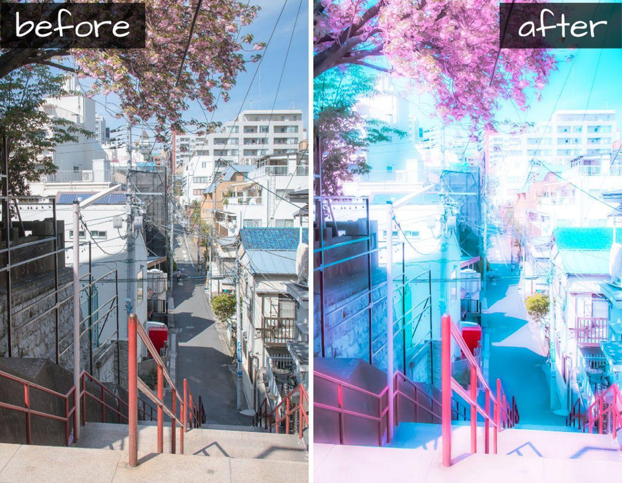 Anime style mobile lightroom preset (DNG)