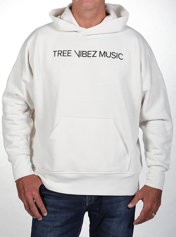 Tribe Kelley & Tree Vibez Music Collaboration Premium Hoodie, White