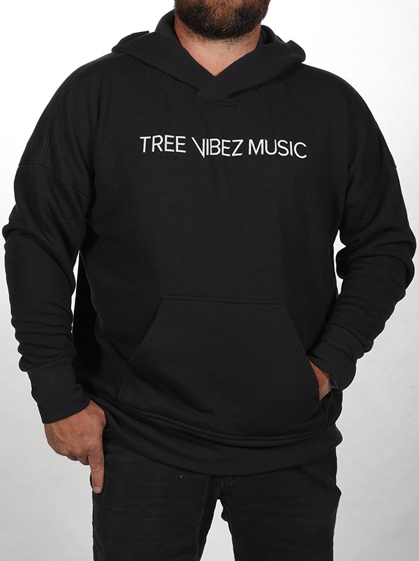 Tribe Kelley & Tree Vibez Music Collaboration Premium Hoodie, Black