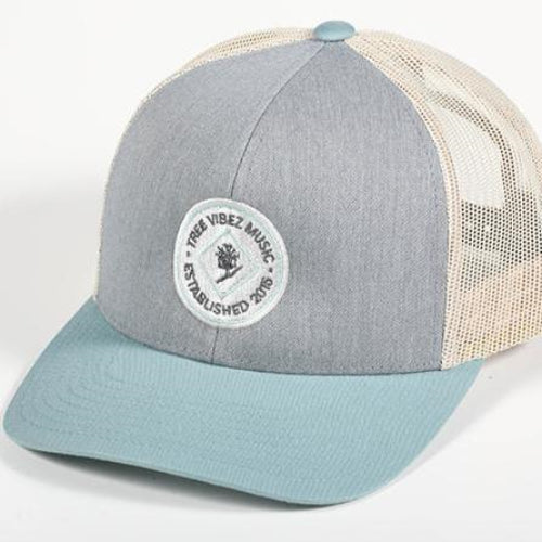 Established Blue Gray Hat