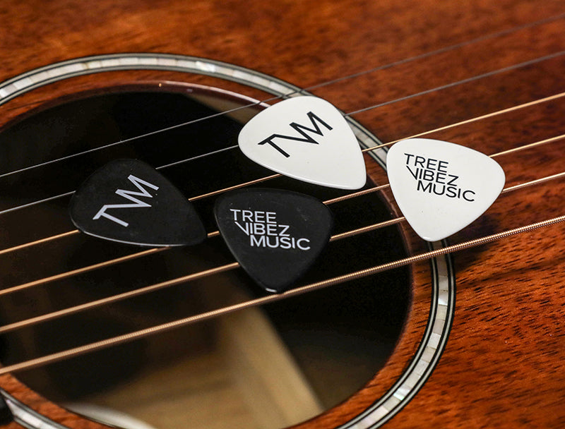 Tree Vibez Music Guitar Picks