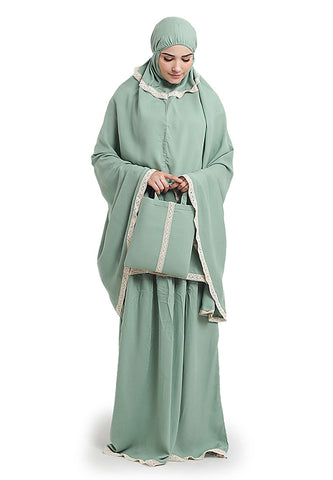 MUKENA WANITA [BAC 308] - COTTON RAYON