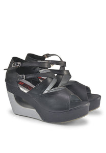 WEDGES WANITA [BJI 667] - SYNTETIC