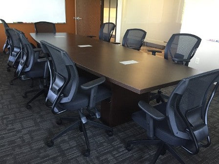 Liquidate conference table office liquidation