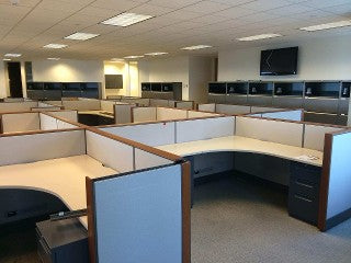 Liquidate office cubicles