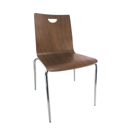 Aria Stacking Wood Guest Chair