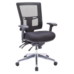 Presto Multi-Function Executive Mid Back Chair